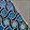 Blue Weave Dots