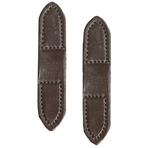 LEATHER REIN STOPS-PAIR