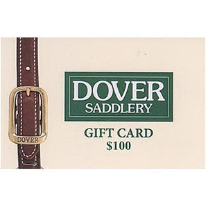 $100 Dover Saddlery Gift Card