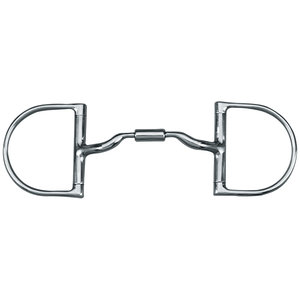 Myler Low Port Dee Snaffle Bit MB 04