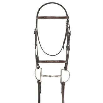 Camelot Select Gold Fancy Raised Bridle