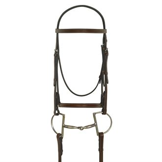 CAMELOT PLAIN RAISED BRIDLE