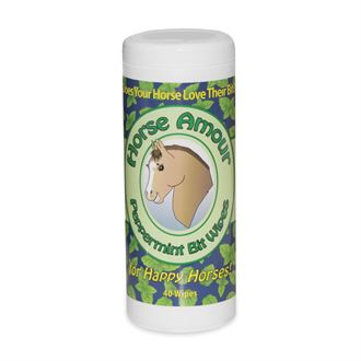 HORSE AMOUR BIT WIPES-PEPRMINT