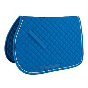 RiderÆs International Quilted Saddle Pad With Piping