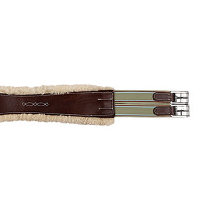 Marcel Toulouse Sheepskin Contoured Girth
