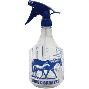 Quart Bottle with Sprayer
