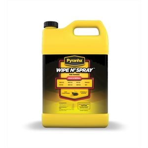 Pyranha Wipe N Spray Fly Spray Gallon
