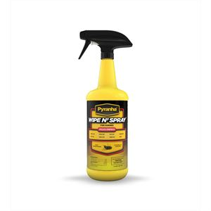 Pyranha Wipe N Spray Fly Spray