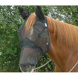Cashel Quiet Ride? Long Nose Fly Mask with Ears