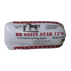 BB SATIN STAR LEG WRAP SHEETS