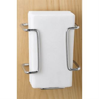 Chrome Salt Block Holder