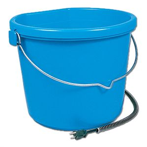 20-Quart Heated Flatback Bucket