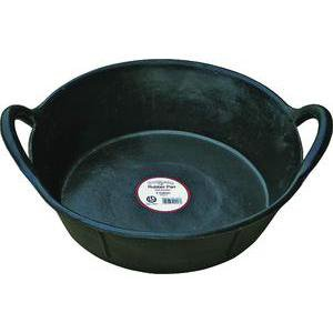 Double-Tuf Rubber Pan with Handles