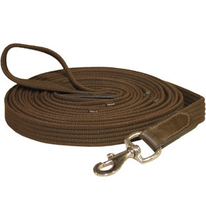 Ribbed Cotton Lunge Line