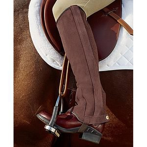Riding Sport? Suede Half Chaps