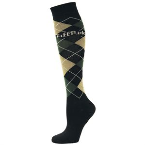 Tuff Rider Argyle Riding Socks
