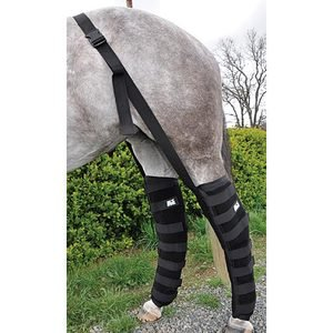 FULL HIND LEG ICE BOOTS-PAIR