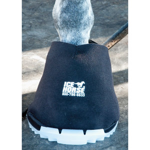 Ice Horse® Big Black Hoof Boot