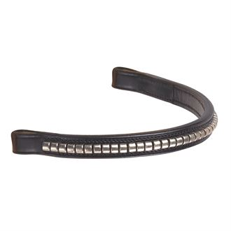 SILVER CLINCHER BROWBAND