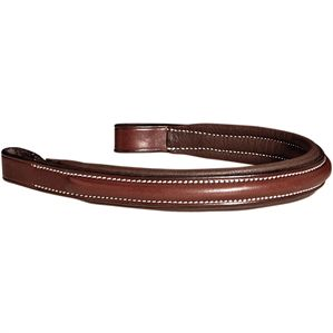 Showmark Plain Raised Padded Browband