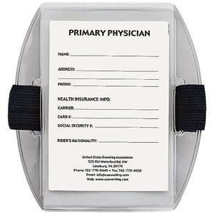 USEA MEDICAL CARD/ARM BAND