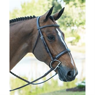 Ovation Ultra Fancy-Stitched Wide Nose Bridle