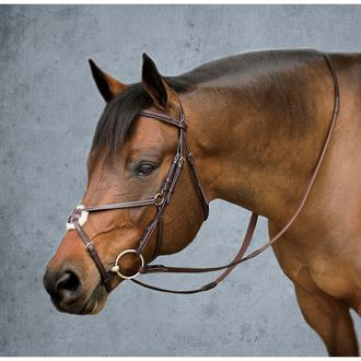 Showmark Deluxe Jumper Bridle