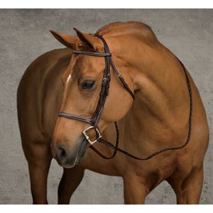 Showmark Fancy Raised Pony Hunter Bridle