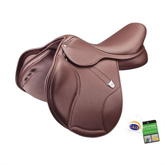 Next Generation Bates Elevation Deep Seat Saddle - Covered Leather