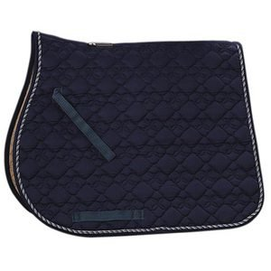 Roma« Ecole Cotton Flower Quilted All Purpose Saddle Pad