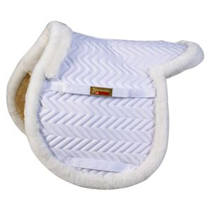 FleeceworksÖ the Show Hunter Saddle Pad