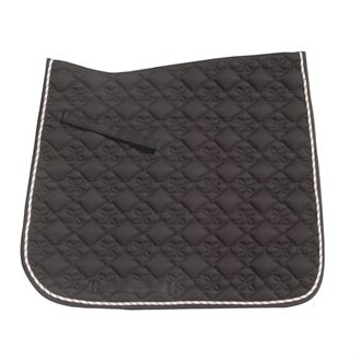 Roma® Ecole Flower Diamond Dressage Saddle Pad