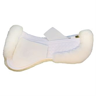Mattes Gold Wool Correction Half pad with rear trim-A/P