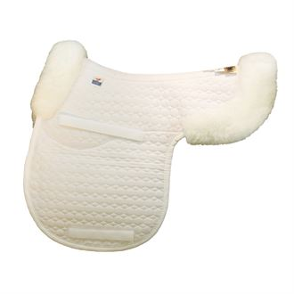 Mattes Gold Wool Contour Pad with Bare Flaps and Rear Trim - A/P