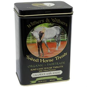 SWEET HORSE TREAT TIN