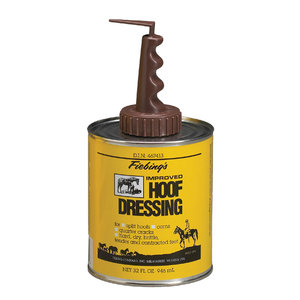 FIEBINGS HOOF DRESS W/ BRUSH