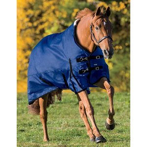 Rider?s International Supreme Turnout Sheet - Brown Plaid - Sizes 80-84