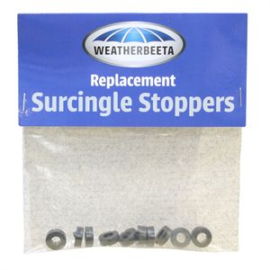 WB SURCINGLE RUBBER STPRS 10PC