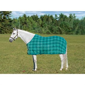 CENTAUR FLEECE PLAID SHEET