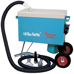 Electro-Groom« Vacuum with Booster Power