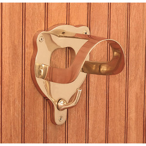 Solid Brass Bridle Bracket
