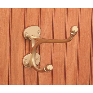 BRASS HARNESS HOOK-5