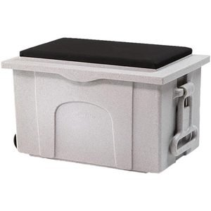 Burlingham Deluxe Sport Trunk with Padded Seat