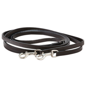 Circuit Leather Draw Reins with Snaps