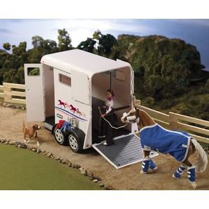 BREYER TRADITIONAL TRAILER-WHT