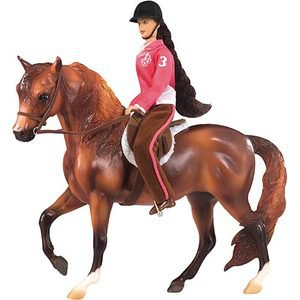 Breyer My Favorite Horse Lets Go Riding Hunt Seat Gift Set