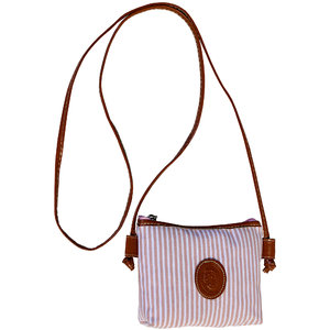 PINK STRIPE PURSE