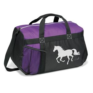 RUNNING HORSE DUFFLE BAG