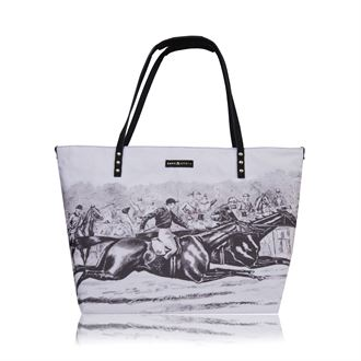 PAUL AND LYDIA ZIPPER TOTE BAG