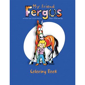 MY FRIEND FERUS COLORING BOOK